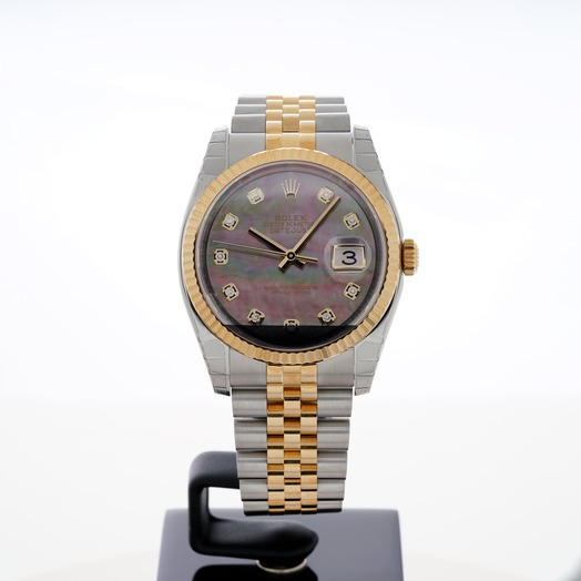 Rolex Datejust 116233 black mop